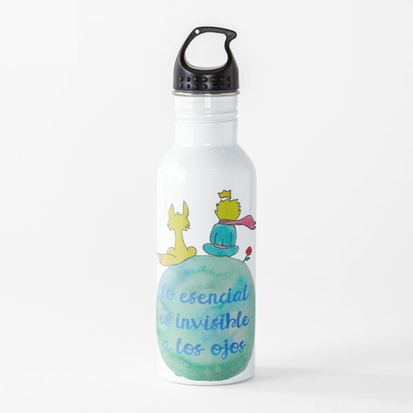 The essential is invisible to the eyes Water Bottle