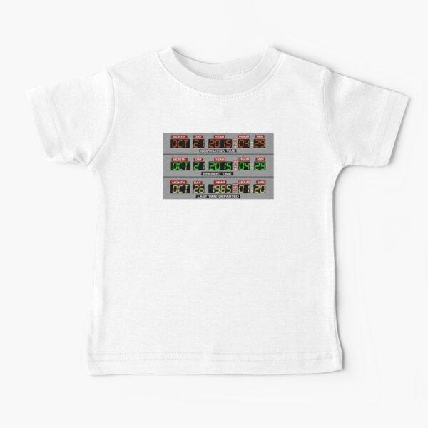 Retour vers le futur 2 Circuits de temps 2015 T-shirt bébé
