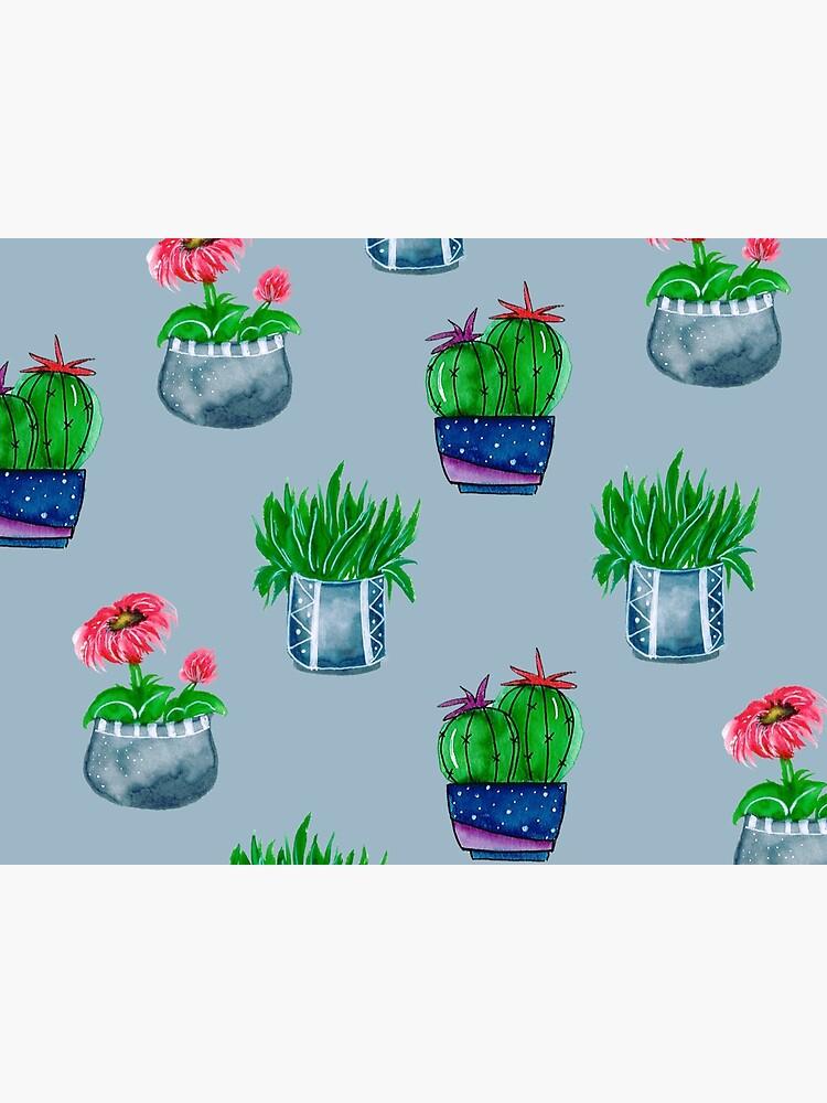 Cacti pattern by artbylenashop