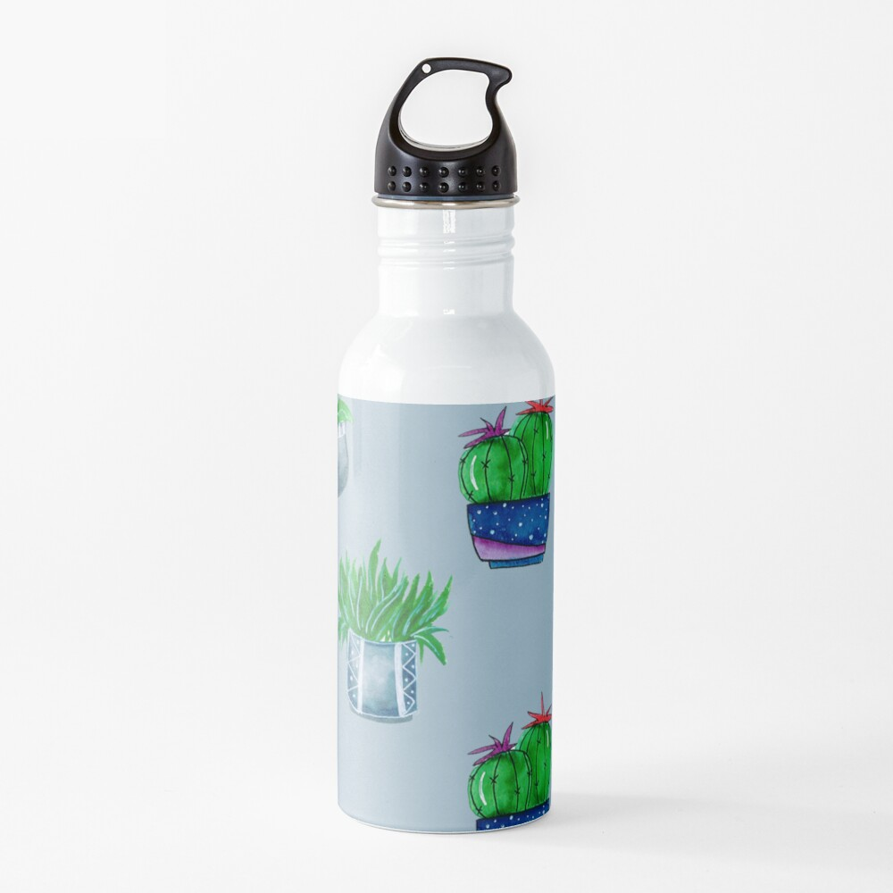 Cacti pattern Water Bottle