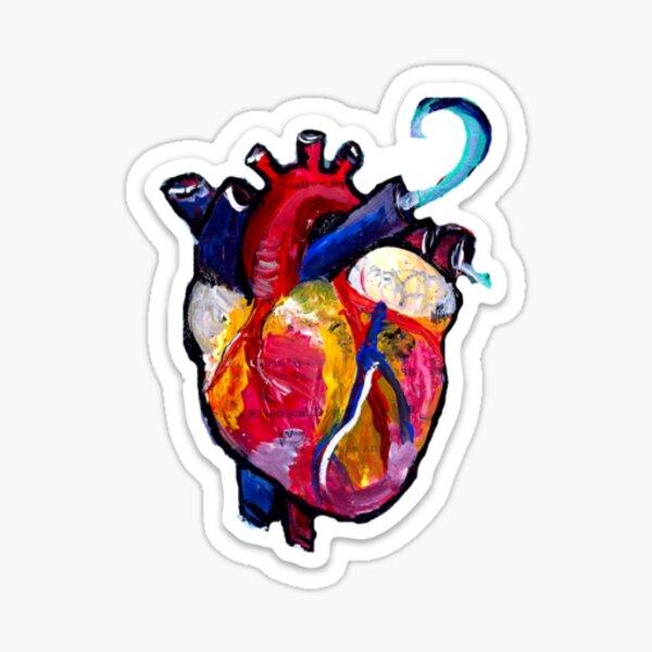 Beating Heart Sticker
