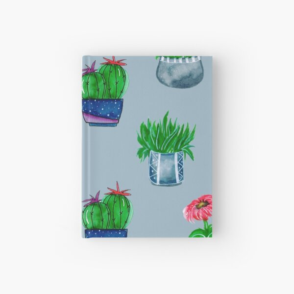 Cacti pattern Hardcover Journal