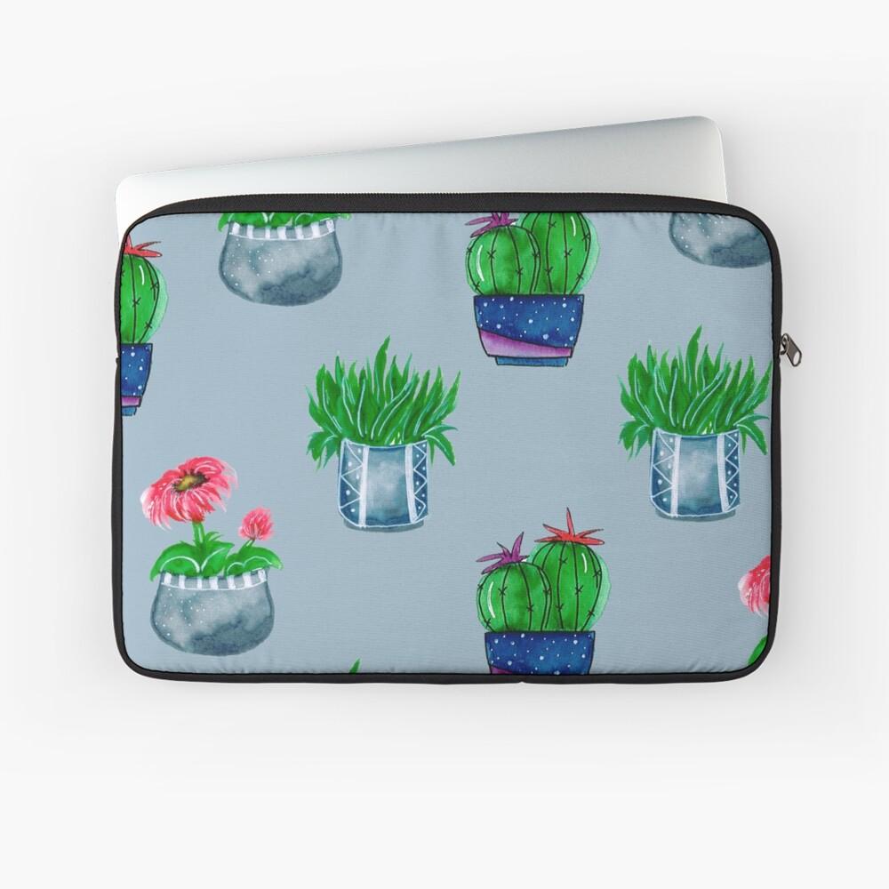 Cacti pattern Laptop Sleeve
