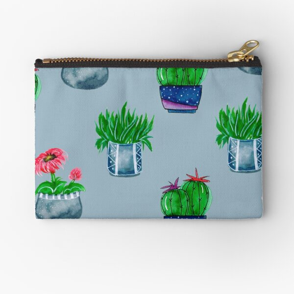 Cacti pattern Zipper Pouch