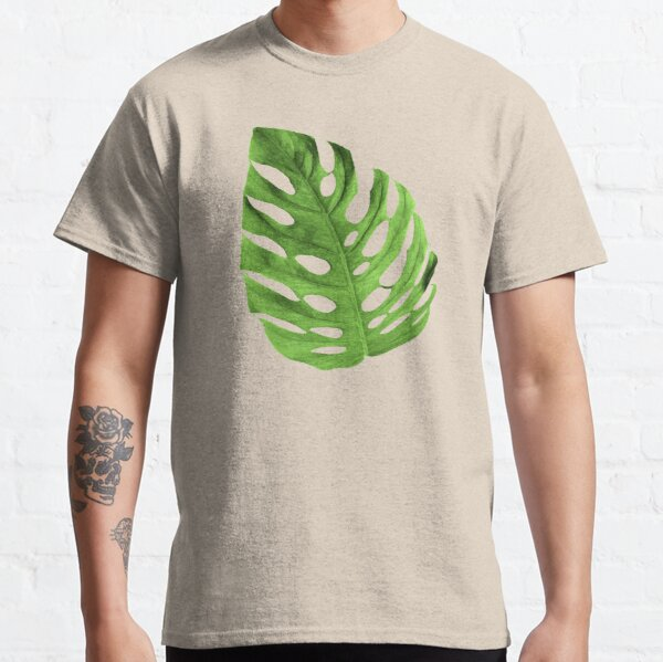 Large monstera leaf Classic T-Shirt