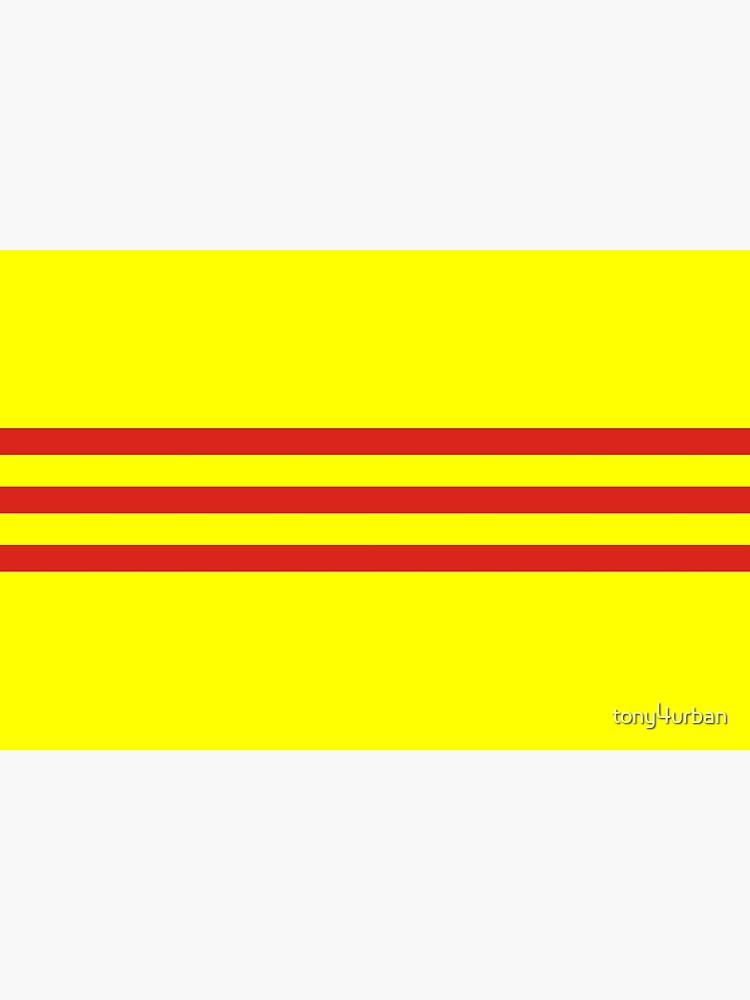 south vietnam flag by tony4urban