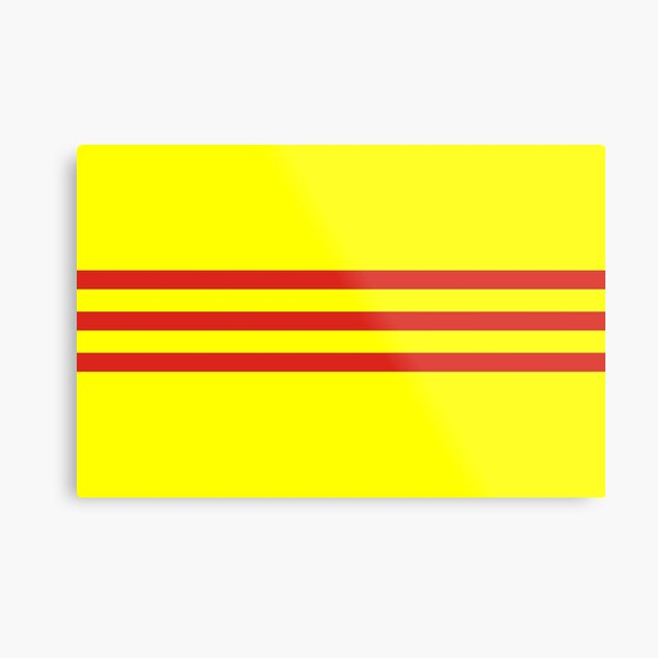 south vietnam flag Metal Print