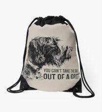 SNIFF A GRIFF Drawstring Bag