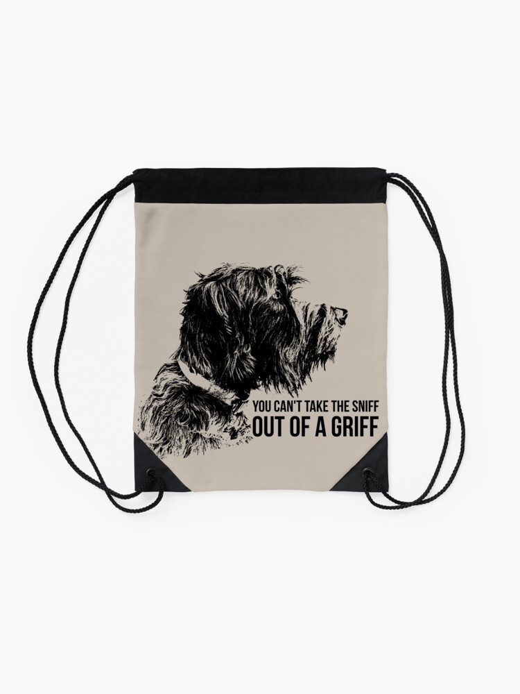 Alternate view of SNIFF A GRIFF Drawstring Bag