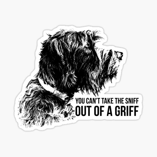 SNIFF A GRIFF Sticker