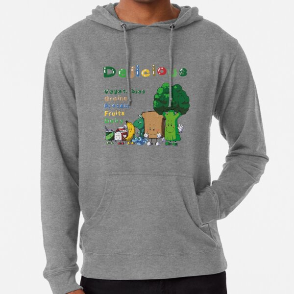 DELICIOUS Food Group T-Shirts PLUS more stuff Lightweight Hoodie