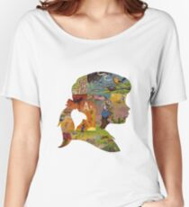 Thoughtful - Girl Silhouette Women's Relaxed Fit T-Shirt