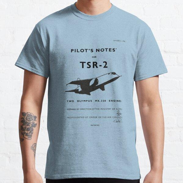 Pilot's Notes for TSR-2 Classic T-Shirt