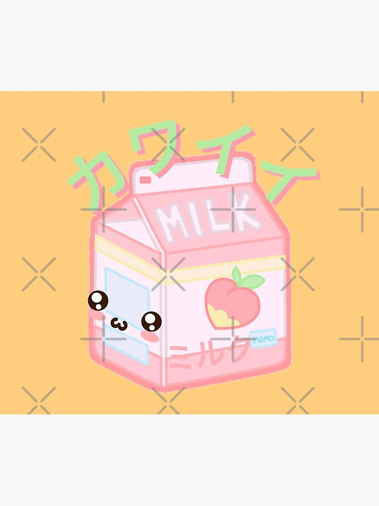 Kawaii Milk Japanese funny and cute by TheLuckyBoy