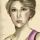 Portrait of stephanie by Lubna