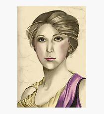 Portrait of stephanie Photographic Print