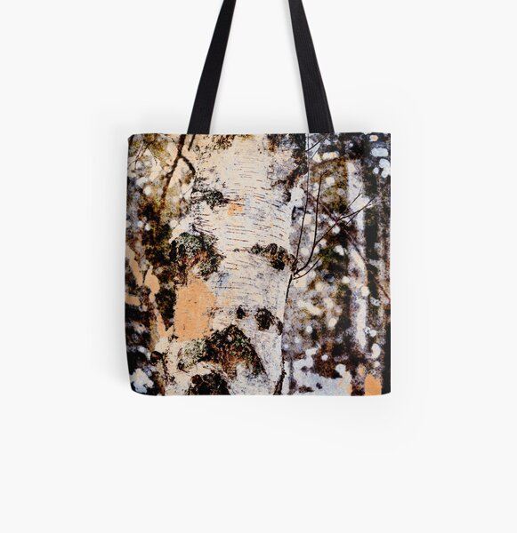 murmurs of the forest All Over Print Tote Bag