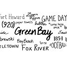 Green Bay Phrases by GBSwagShop