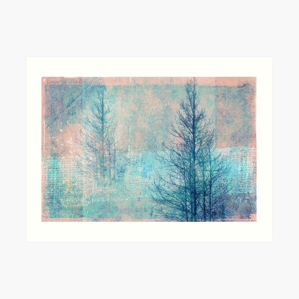 ghostly winter Art Print