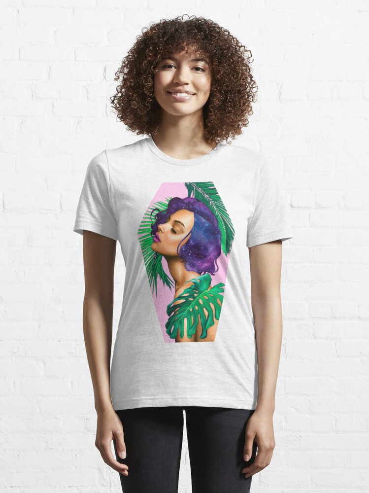 Alternate view of Paradise by Miss E Essential T-Shirt