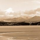 Cumbria across the Bay by mikebov