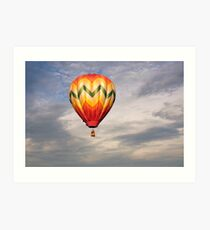Sunrise Flight Art Print