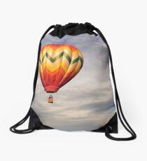 Sunrise Flight Drawstring Bag