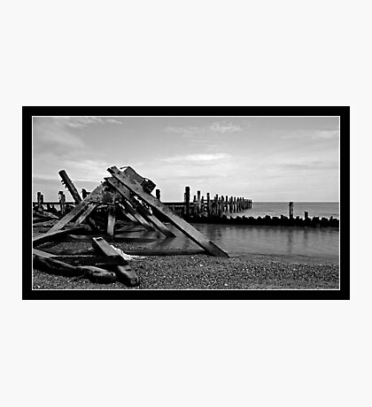 Destructive seas Photographic Print