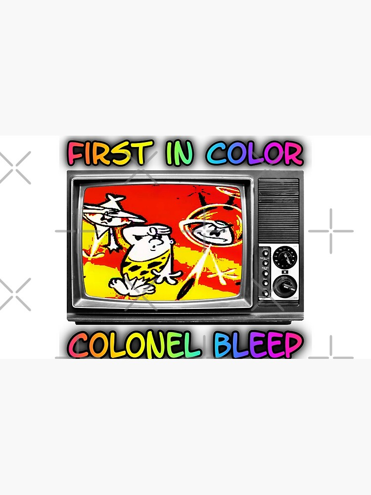 First In Color, Colonel Bleep , The First Color For TV Cartoon. by michaelrodents