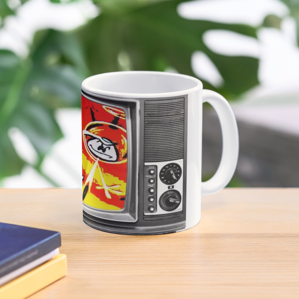First In Color, Colonel Bleep , The First Color For TV Cartoon. Mug