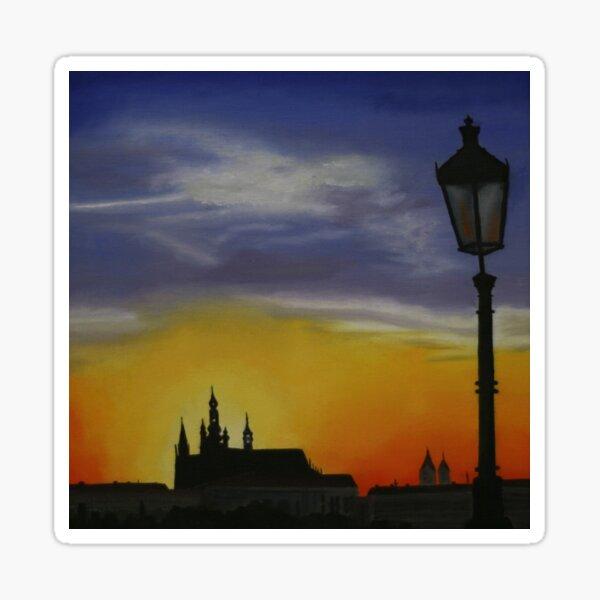 Tequila Sunset - Prague Castle Sticker