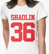 36 Chambers of Shaolin Women's Fitted T-Shirt