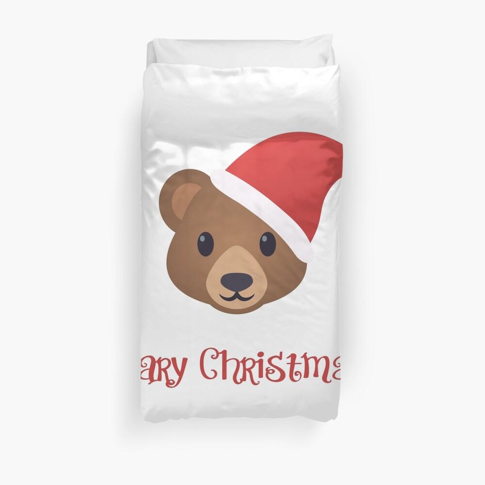 Beary Christmas Duvet Cover