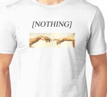 GOD AND ADAM [NOTHING] Unisex T-Shirt