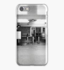Barriers in the early morning iPhone Case/Skin