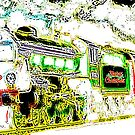 Christmas train from steambywhacky by bywhacky
