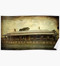 ~ Old Railway Station - Casterton ~ Poster