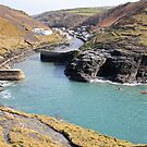 A view over Boscastle. by bared