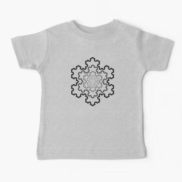 The Koch Snowflake Baby T-Shirt