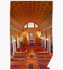St Lawrence Church, Mereworth Poster