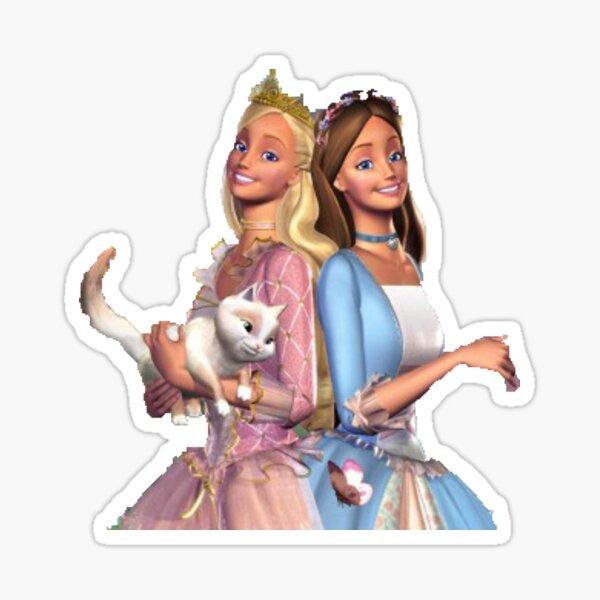 Barbie princesse et le pauvre Sticker