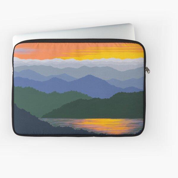 Blue Ridge Sunset Reflections 163 Laptop Sleeve