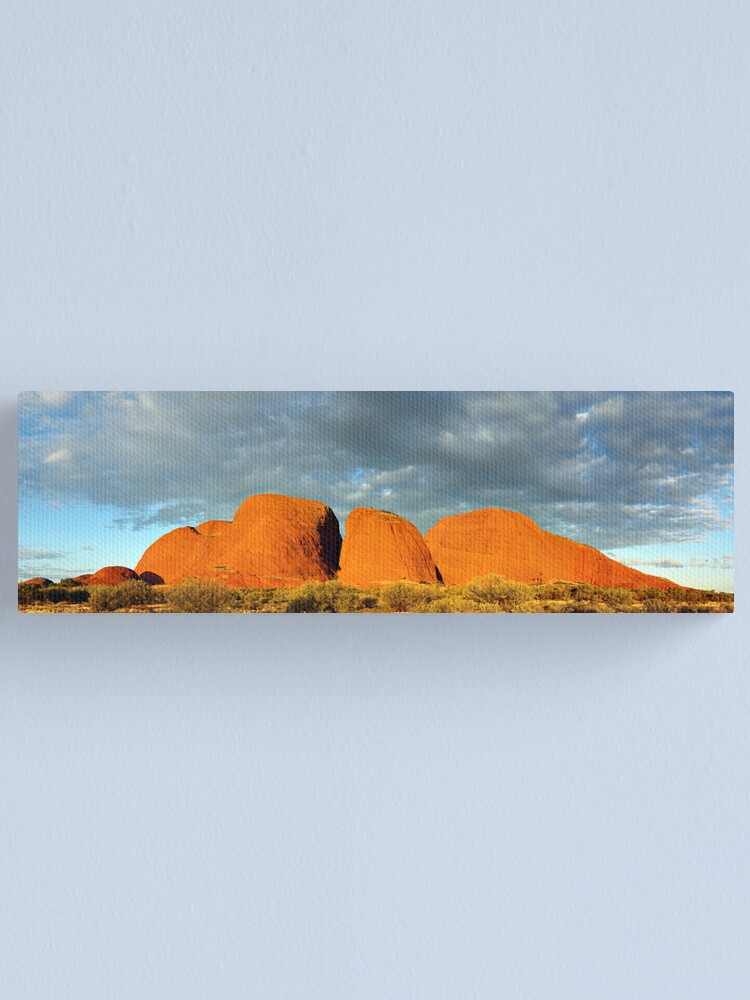 Alternate view of The Olgas (Kata Tjuta), Sunset, Australia Canvas Print