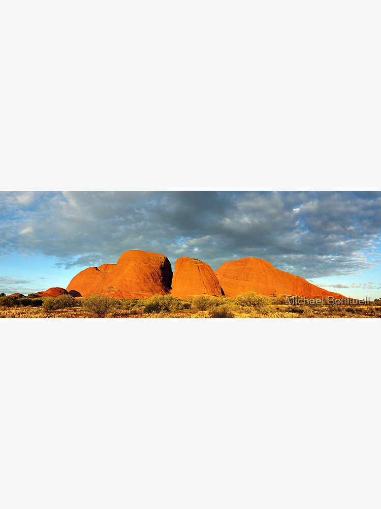 The Olgas (Kata Tjuta), Sunset, Australia by Chockstone