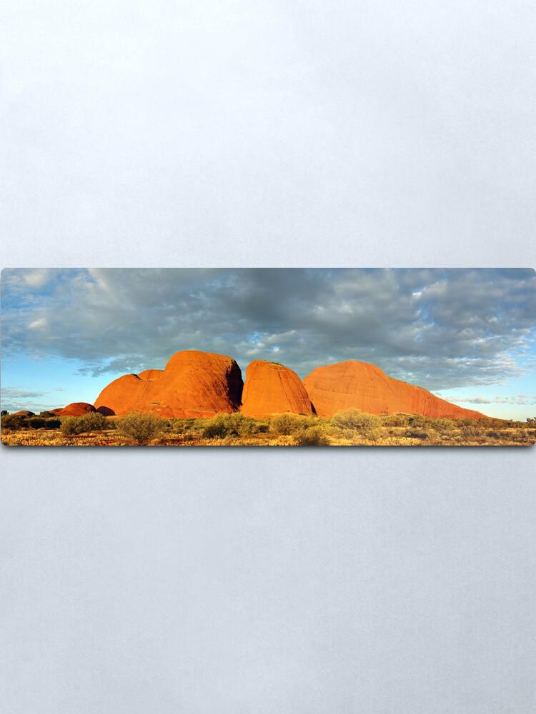 Alternate view of The Olgas (Kata Tjuta), Sunset, Australia Metal Print
