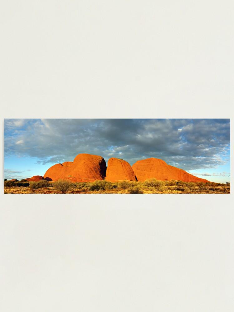 Alternate view of The Olgas (Kata Tjuta), Sunset, Australia Photographic Print