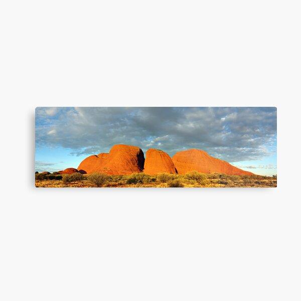 The Olgas (Kata Tjuta), Sunset, Australia Metal Print