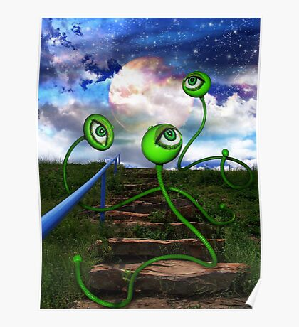 Love Crazed Perigee Moon Worms Poster
