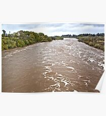 Santa Ynez River and Lompoc Poster