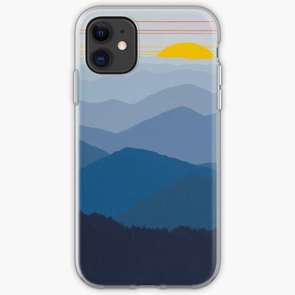 Blue Ridge Sunrise Pano 179 iPhone Soft Case